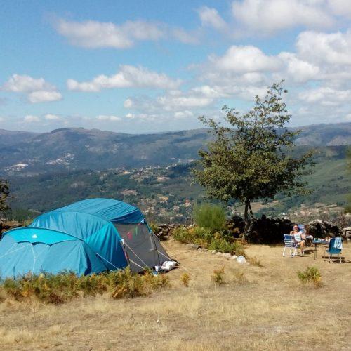 Beveiligd: Natuurcamping Portugal : Met je hoofd in de wolken