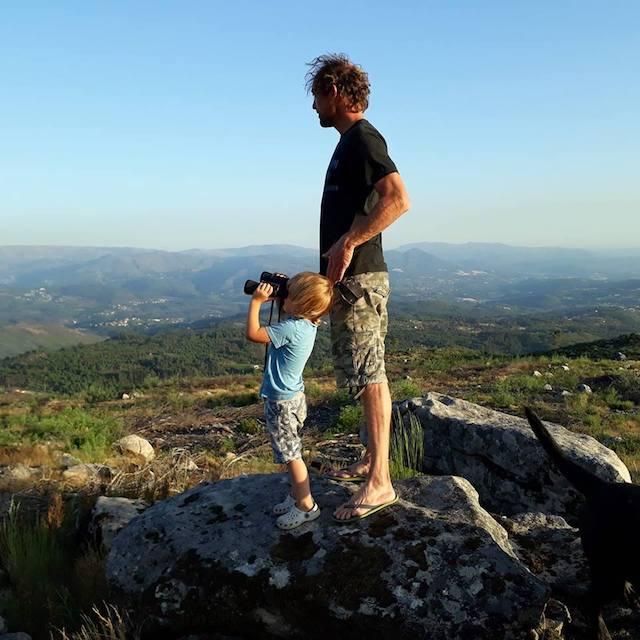 stoere kindvriendelijke natuur camping en glamping in Noord Portugal Gere