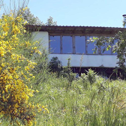 straw bale eco lodge Portugal