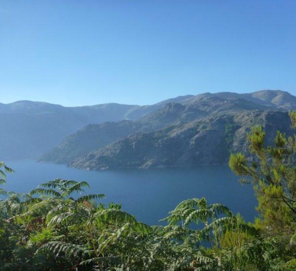 Meer Geres natuur vakantie Noord Portrugal