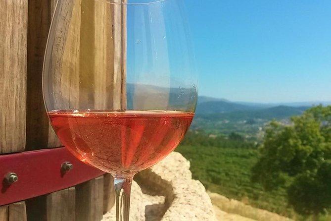 Glamping vakantie Noord Portugal bezoek aan wijnboerderij vinho verde