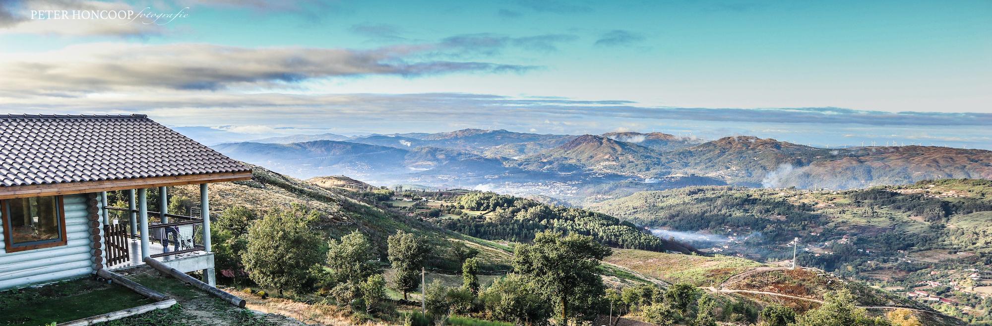 glamping bungalows no norte de Portugal com vistas panoramicas