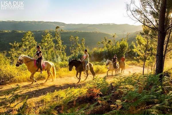 Paardrijden op vakantie in Noord Portugal